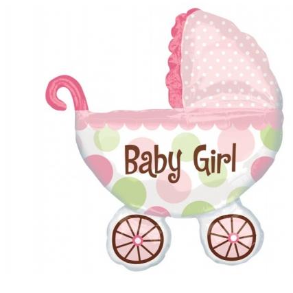 Balon foliowy Baby Girl